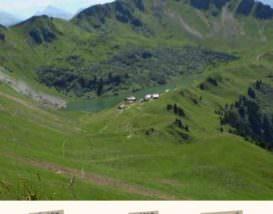 Topo randonnée Lac de Lessy par Cenise