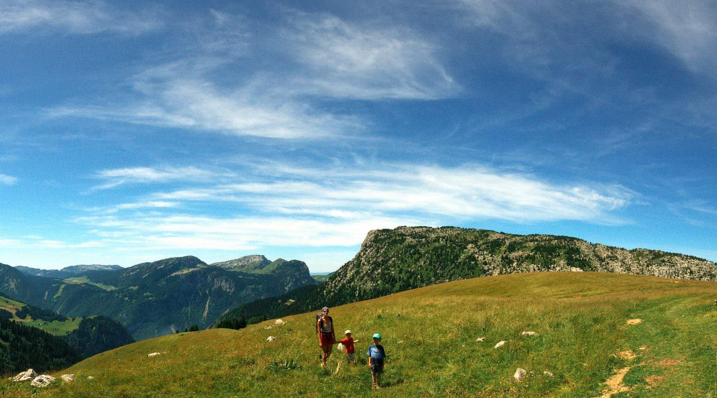 Plateau de Cenise - Randonnée - Famille