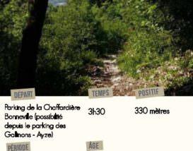 Topo-randonnée-boucle-du-Reyret-Bonneville