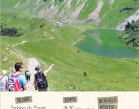 Topo randonnée Lac de Lessy par paradis