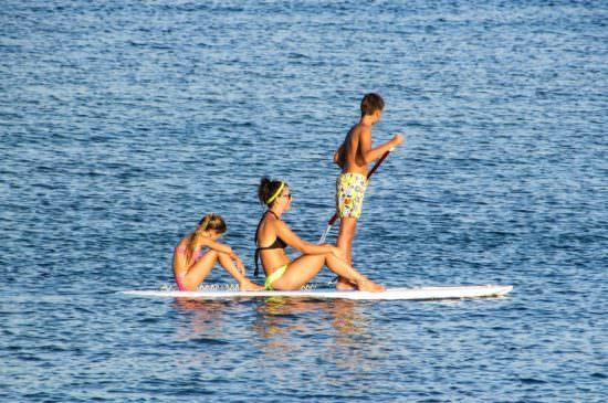 Paddle en famille