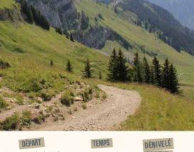 Topo randonnée Lac de Lessy par Mayse