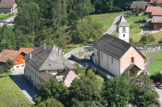 Eglise abbatiale d'Entremont