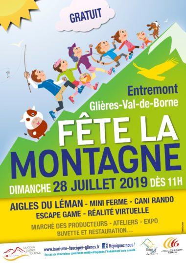 Affiche Fête de la Montagne 2019