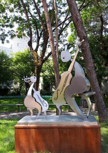 Photo sculpture Bonneville