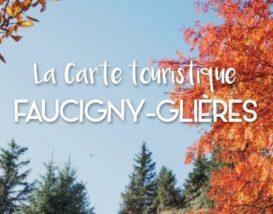Carte touristique Faucigny Glières
