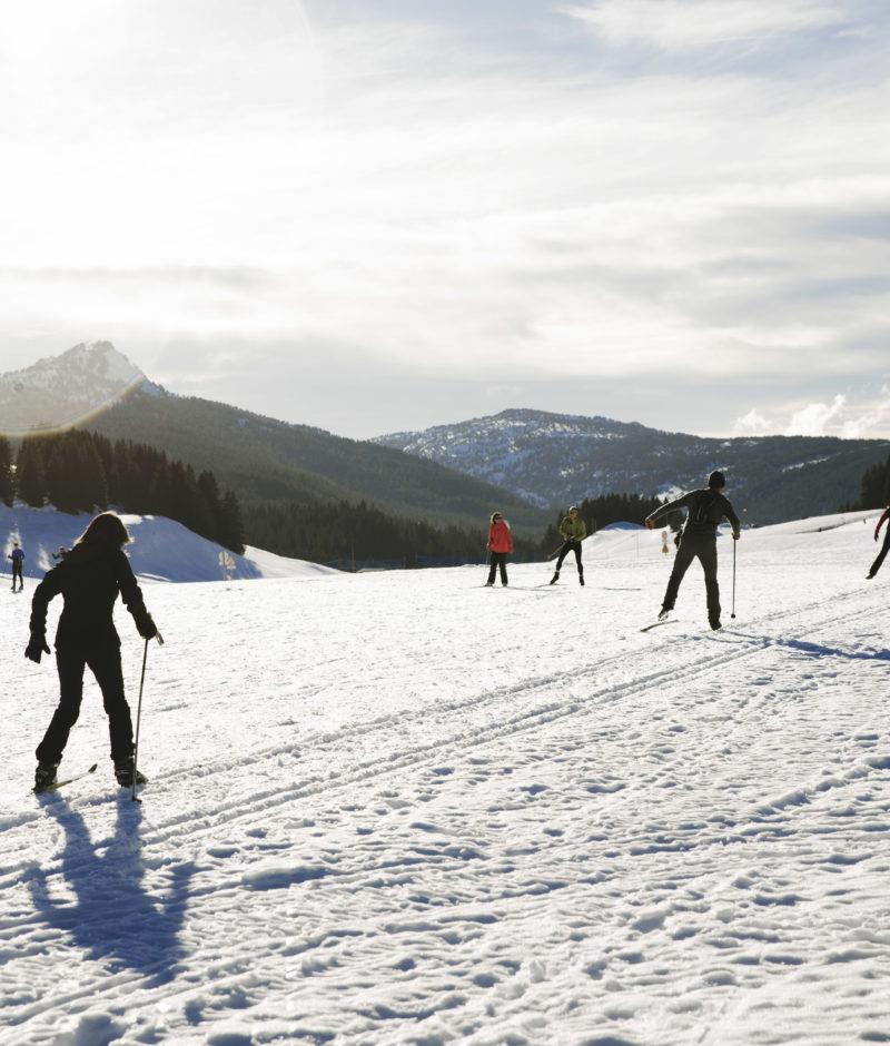 ski de fond Glières