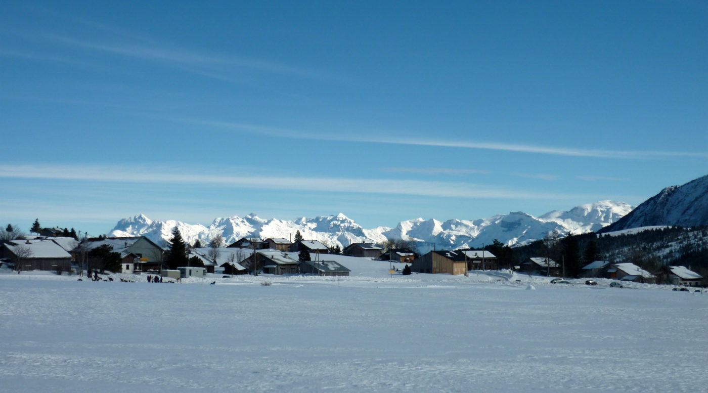 Plateau de Solaison hiver