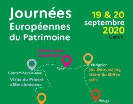 Programme Journées Européennes du Patrimoine 2020