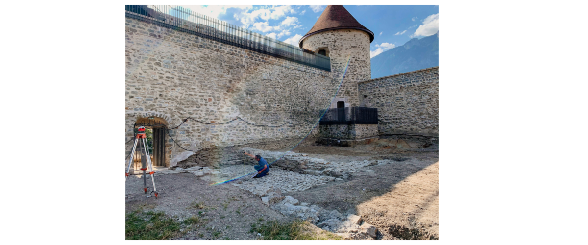 Fouilles archéologique